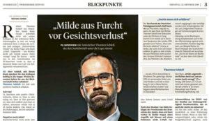 Milde aus Furcht vor Gesichtsverlust | Pressebericht | Thorsten Schleif