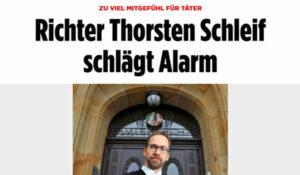Richter Thorsten Schleif schlägt Alarm | Pressebericht | Thorsten Schleif