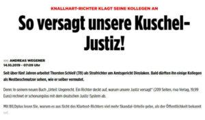 So versagt unsere Kuschel-Justiz   Pressebericht   Thorsten Schleif