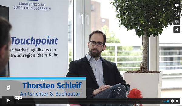 Touchpoint der Marketing-Talk | Video | Thorsten Schleif