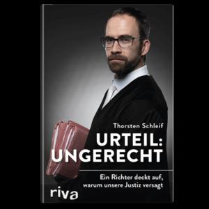 Urteil ungerecht   Buch Cover   Thorsten Schleif