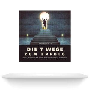 Die 7 Wege zum Erfolg   Hörbuch auf Regalbrett   Thorsten Schleif