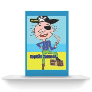 Kapitän Zahnlos   Buch auf Regalbrett   Kira Schleif
